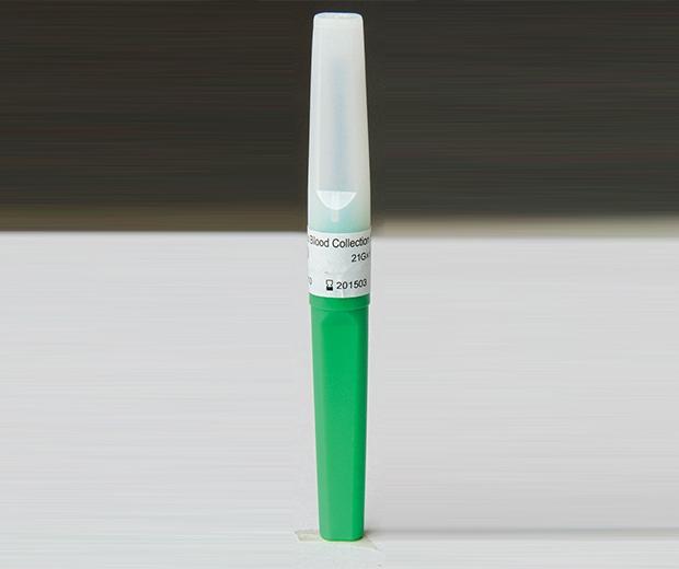一次性使用静脉血样采集针(硬连接 21G)