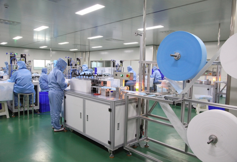 医用外科口罩生产